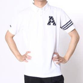 アディダス adidas ゴルフシャツ JP SP エンブレムS/Sポロ CCG53 (ホワイト)