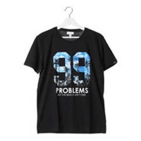 アディダス adidas 半袖Tシャツ SC トロピカルナンバリングTシャツ M AK1016 (ブラック)