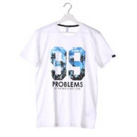 アディダス adidas 半袖Tシャツ SC トロピカルナンバリングTシャツ M AJ8246 (ホワイト)