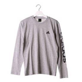 アディダス adidas メンズ 長袖Tシャツ M BIG リニア AZ7540