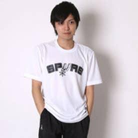 アディダス adidas バスケットボールTシャツ NBAチームロゴ半袖Tシャツ AP0477      (ホワイト)