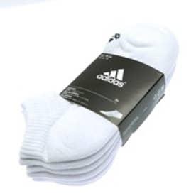アディダス adidas ソックス 3S パフォーマンス 3Pアンクルソックス KAW66 ホワイト (ホワイト)