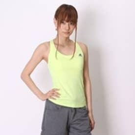 アディダス adidas ブラトップ W Fitness カップ付キ フィットタンクトップ AH8354 イエロー (レモンイエロー)