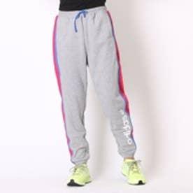 アディダス adidas スウェットパンツHMストリートミックススウェットパンツWAH7262グレー (ミデアムグレー)