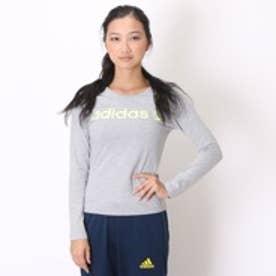 アディダス adidas Tシャツ BC ロングスリーブTシャツ W AB8590 グレー (ミデアムグレー)