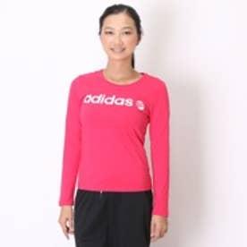 アディダス adidas Tシャツ BC ロングスリーブTシャツ W AB8591 ピンク (ローズ)