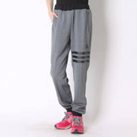 アディダス adidas トレーニングパンツ W 24/7 杢ジャージ裾リブパンツ BPZ38