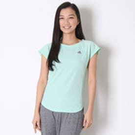 アディダス adidas Tシャツ W ワークアウト UV ボーダーTシャツ BIK01
