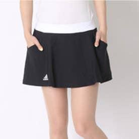 アディダス adidas テニスパンツ W クラブ スコート AJ3224 ブラック (ブラック×ホワイト)
