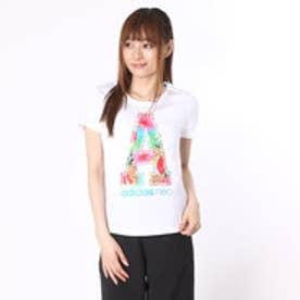 アディダス adidas Tシャツ SC サマーグラフィックアルファベットTシャツ W BHR37