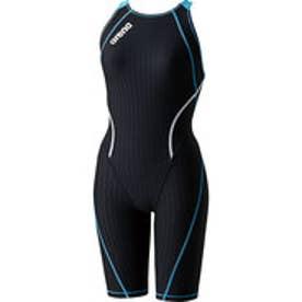 アリーナ arena 競泳スーツ  AR SAR-6100W TR  (ブラック×ターコイズブルー)