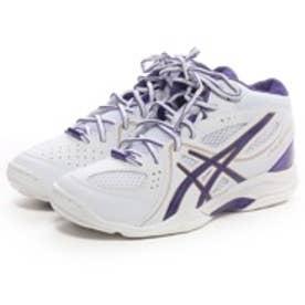 アシックス Asics バスケットボールシューズ LADY GEL FLASH 5 TBF401 ホワイト 123
