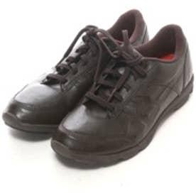 ロコンド 靴とファッションの通販サイトアシックスasicsウォーキングシューズTDW541ブラウン0114(ダークブラウン)