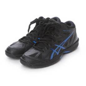 アシックス asics バスケットボールシューズ GELHOOP V 8 TBF330     567 (ブラック×ロイヤルブルー)