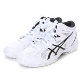 アシックス asics バスケットボールシューズ GELHOOP V 8 TBF330     565 (ホワイト×ブラック)