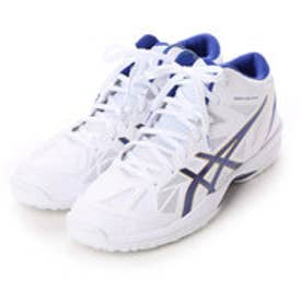 アシックス asics バスケットボールシューズ GELHOOP V 8 TBF330 568 (ホワイト×ヂィープブルー)