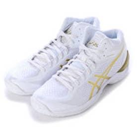 アシックス asics バスケットボールシューズ GELBURST20th-slim TBF23G 94 (ホワイト×ゴールド)