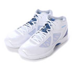 アシックス asics バスケットボールシューズ GELSCOOP ゲルスクープ TBF313 152 (ホワイト×ブルーベル)