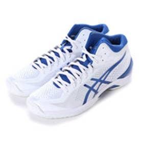 アシックス asics バスケットボールシューズ GELBURST20th TBF329 102 (ホワイト×ロイヤルブルー)