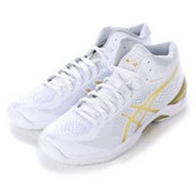 アシックス asics バスケットボールシューズ GELBURST20th TBF329 103 (ホワイト×ゴールド)