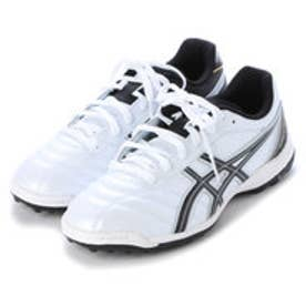 アシックス asics サッカートレーニングシューズ DS ライト2 TF SL TST666 3172 (パールホワイト×ブラック)