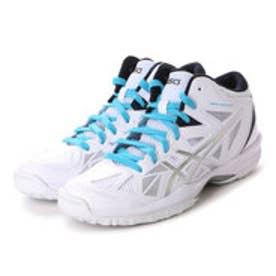 アシックス asics ユニセックス バスケットボール シューズ GELHOOP V 8-slim TBF332 154 (ホワイト/DKSA)