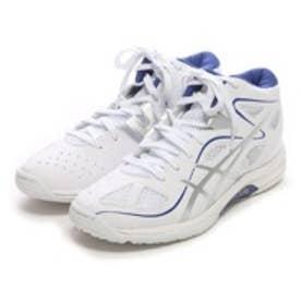アシックス asics バスケットボールシューズ レディ ゲルフェアリー 7 TBF402 ホワイト 544 (ホワイトSV)