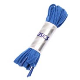 【150cm】アシックス asics バスケットボールシューレース フラットシューレース(太タイプ) TXX117 ブルー (ブルー)