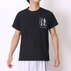 アシックス asics バレーボールTシャツ XW682Nプリ HS ブラック (ブラックYL)