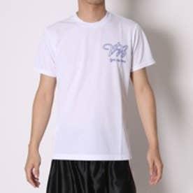 アシックス asics バレーボールTシャツ プリントTシャツHS XW686N  (ホワイトD)