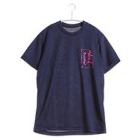 アシックス asics バレーボールTシャツ プリントTシャツHS XW686N  (ネイビーC)