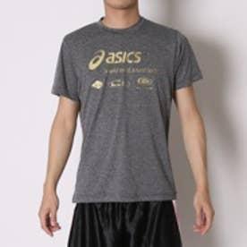 アシックス asics バレーボールTシャツ プリントTシャツHS XW684N  (ブラツクモク)