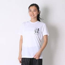 アシックス asics バレーボールTシャツ プリントTシャツHS XW686N  (ホワイトB)