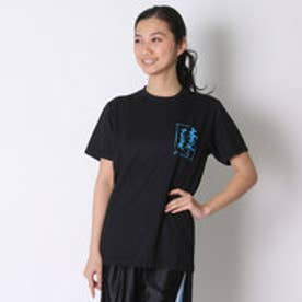 アシックス asics バレーボールTシャツ プリントTシャツHS XW686N  (ブラツクC)