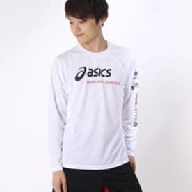 アシックス asics ユニセックス バレーボール 長袖Tシャツ プリントTシャツLS XW692N