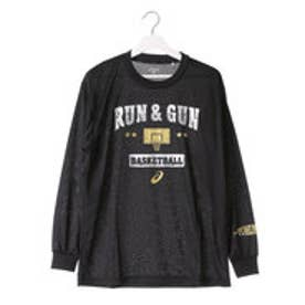 アシックス asics ユニセックス バスケットボール 長袖Tシャツ プリントTシャツLS XB991N