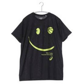 アシックス asics バスケットボールTシャツ W'SプリントTシヤツHS XB982N      (ブラック)