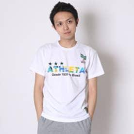 アスレタ ATHLET サッカーTシャツ ブラジルロゴTシャツ 03274  (ホワイト)