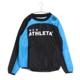 アスレタ ATHLET サッカーウィンドジャケット ピステシャツ AP-0138  (ブラック)