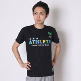 アスレタ ATHLET サッカーTシャツ ブラジルロゴTシャツ 03274  (ブラック)