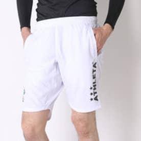 アスレタ ATHLETA サッカープラクティスパンツ ポケット付きプラパン AP-0140  (ホワイト)