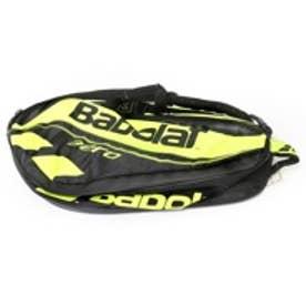 バボラ Babolat テニスラケットケース ピュア アエロ ラケットバッグ(ラケット6本収納可) BB751116 ブラック×イエロー