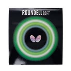 バタフライ Butterfly 卓球ラバー ラウンデルソフト 裏ソフト 厚さ:中 05880 (レッド)