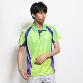 バタフライ Butterfly 卓球シャツ ハイスピア 44510 ブルー