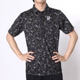 ブリヂストン ゴルフ BRIDGESTONE GOLF ゴルフシャツ 16SS BGメンズハンシャツ DGM34A (ブラック)