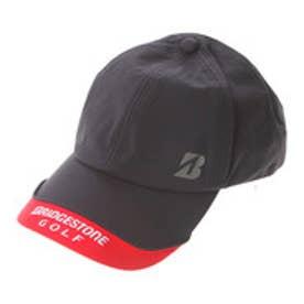 ブリヂストン BRIDGESTONE ゴルフ用レインキャップ BSG CPG512 (ブラック)