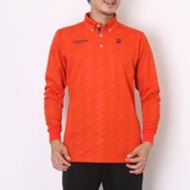ブリヂストン BRIDGESTONE ゴルフシャツ メンズ長袖シャツ AGM14F オレンジ (オレンジ)