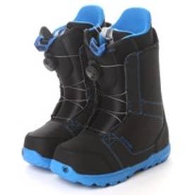 バートン BURTON メンズ スノーボードブーツ SHARK BOA 16670100011 0 (ブラック×ブルー)