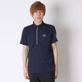 キャロウェイ Callaway ゴルフシャツ キカガクジャカードショートBDカラーシャツ 6157511 (ネイビー)