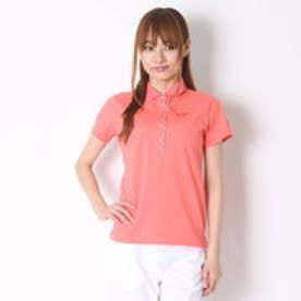 キャロウェイ Callaway ゴルフシャツ ベアカノコ半袖ポロシャツ 6151803 (ピンク)